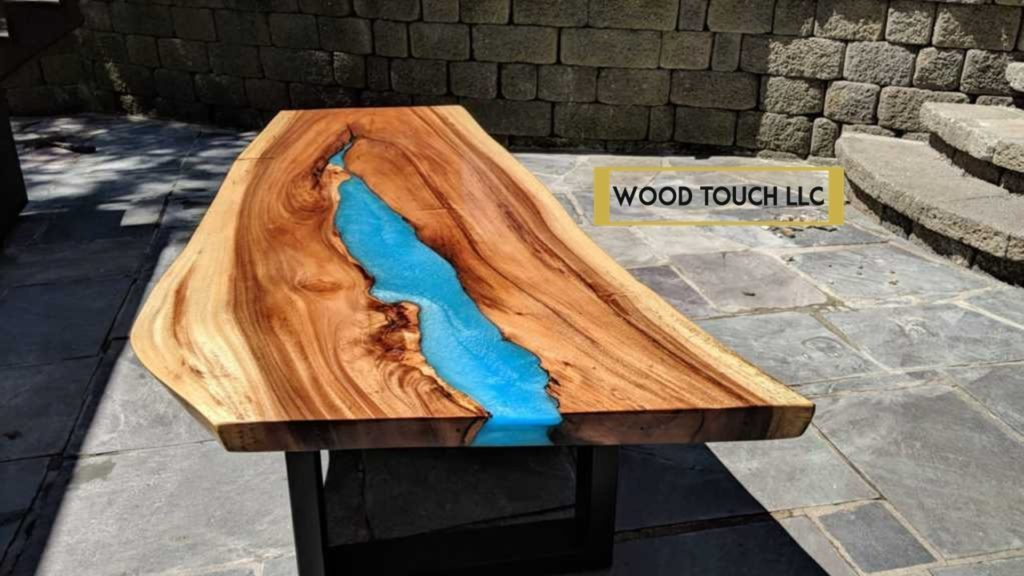 Epoxy Resin Tables Nj River Waterfall Styles Wood Touch