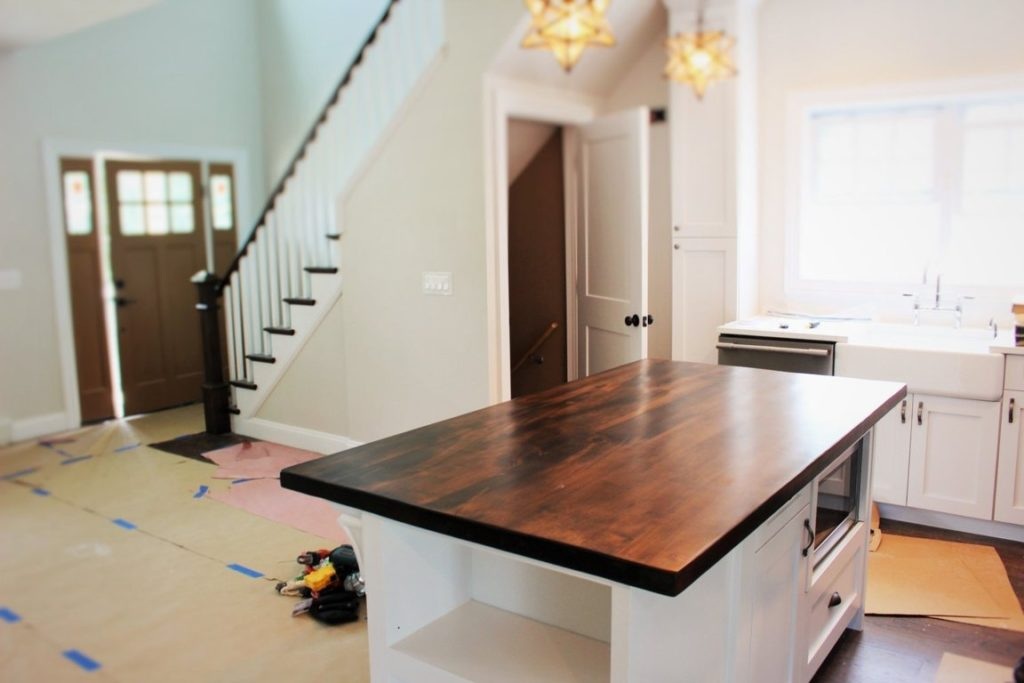 wood kitchen island top Custom Wood Tables Desk Tops New Jersey NYC Wood Touch